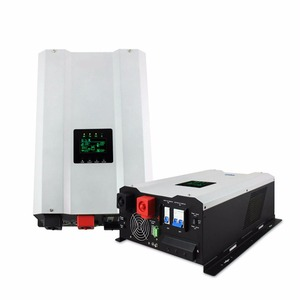 Dual Output Split Phase Inverter 120V 240V Hybrid Off Grid Solar Inverter 1KW 2KW 3KW With 60A MPPT Controller