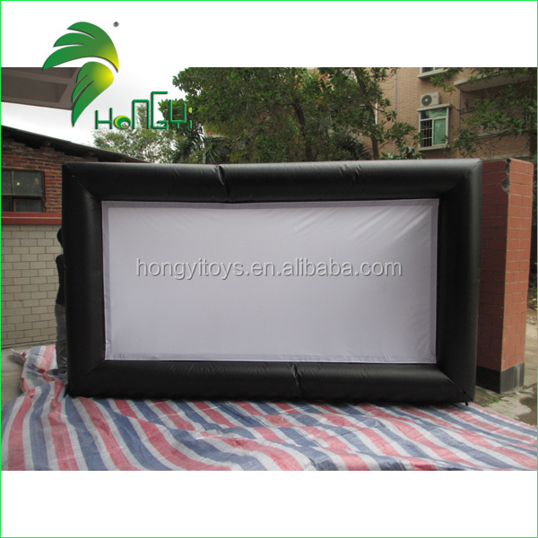 Excellent Quality Outdoor Cinema Inflatable Screen Custom Giant Inflatable Advertisement Screen For Event