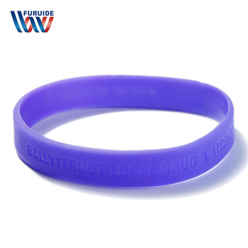 custom logo die cut engraved logo debossed 3d effect silicone bracelet rubber wristband make your own band