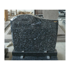 Wholesale Blue Pearl Granite Headstone