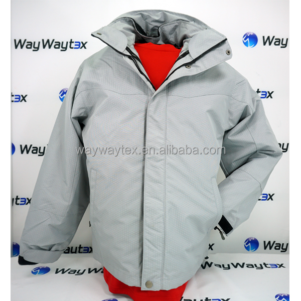 Water proof two ways man sport jacket