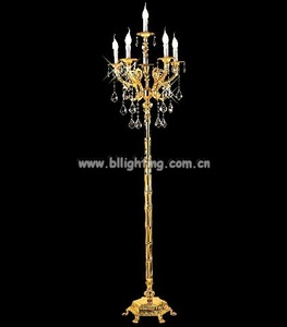 hot sale Old fasion style chandelier floor lamp