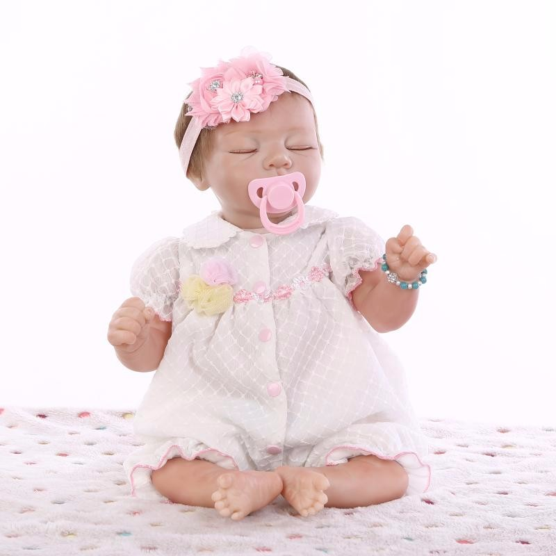 Hot Sale 50 55 Cm Lifelike Silicone Reborn Baby Dolls