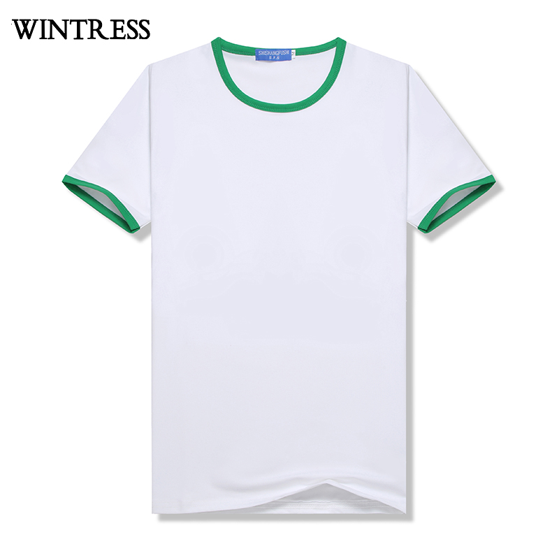 Wintress Günstige China slim fit leere t-shirt kunden logo mann t shirt design, zwei ton t-shirt, weiche sweat-absorbent weißes hemd
