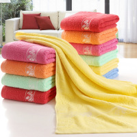 100% Cotton Thick Adult Bath Towel 70x140cm Rectangle Blue Towels Printed Beach Towel Hotel Home