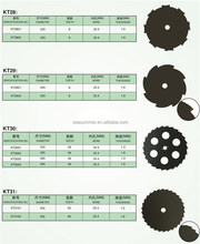 2015 Saw blade for grass cutting brush cutter cutter blade dewalt saw