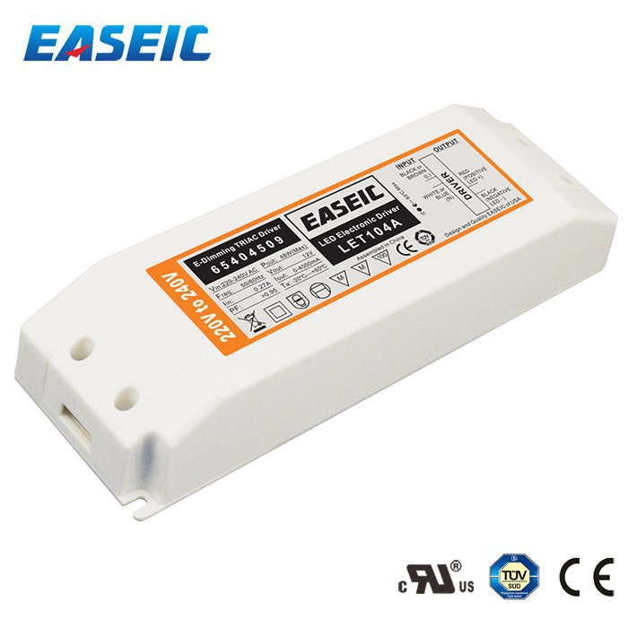 48w 12v Triac Dimmable Led Driver Transformer Constant Voltage ...