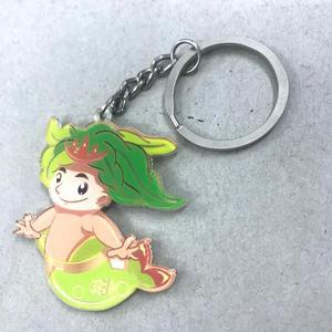 Custom printed acrylic keychain, fashionable design clear anime blank  keychain acrylic