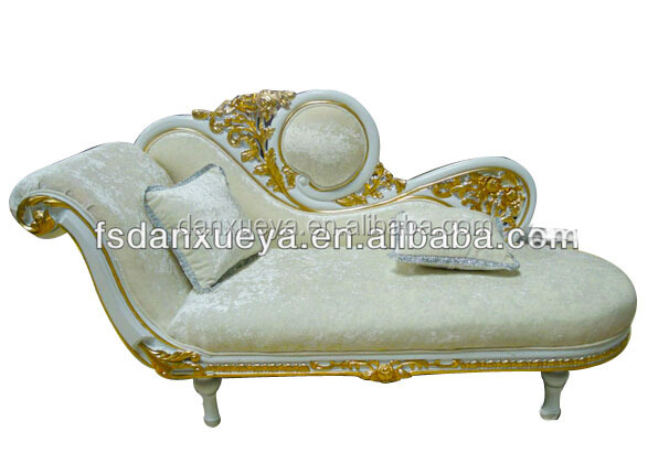 Luxury Royal Chaise Lounge,Louis Xvi French Country Sofa .