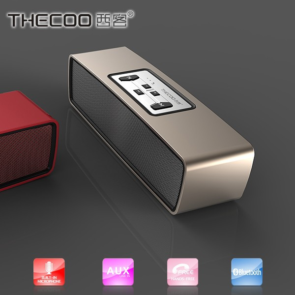 THECOO BT536 Heavy Sense Bluetooth V4.0 Speaker Aluminum Alloy Bluetooth Speaker Product Description TB2UpI4cpXXXXXEXXXXXXXXXX
