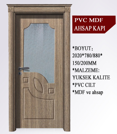 interior pvc toilet door pvc bathroom door price