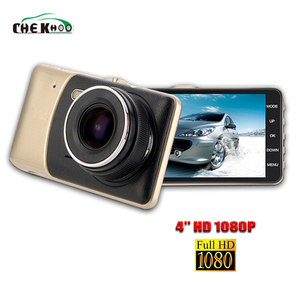 Car DVR 4.0 inch TFT HD Dashcam Dual Camera 1080P Wide Angle Night Version Vehicle Video Recorder Hidden Cam