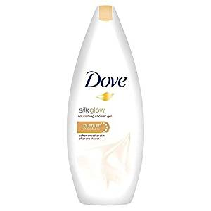 Dove Silk Glow Nourishing Body Wash 250ml (PACK OF 2)