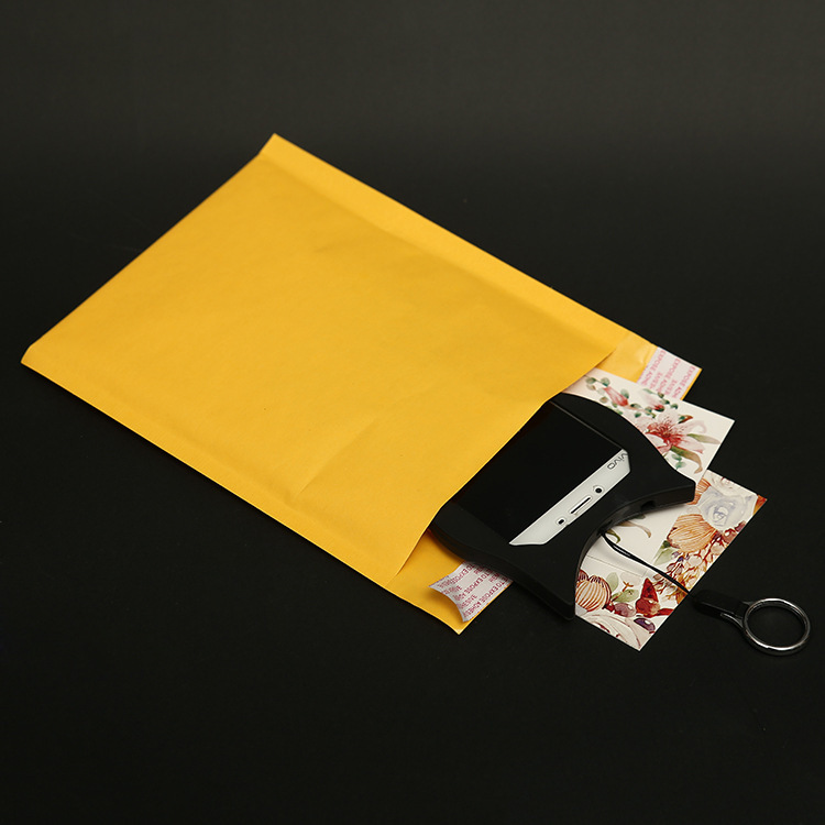 Self-seal High-quality Kraft Bubble Mailer Envelope for packaging