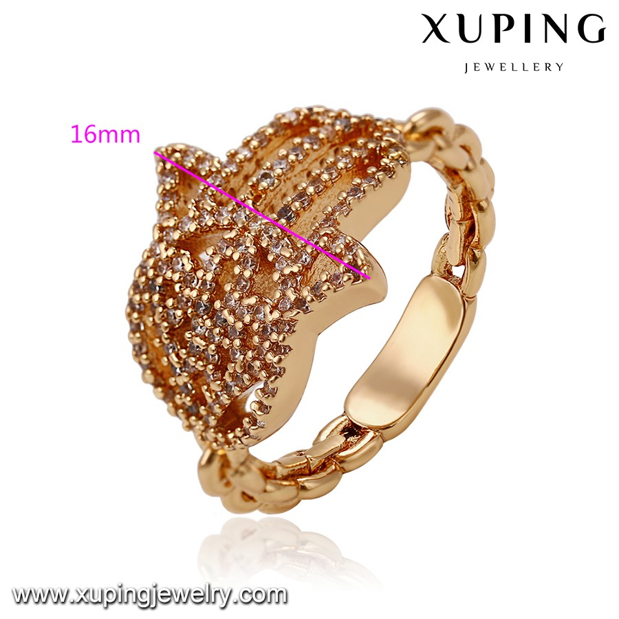 14335-high Fashion Costume Jewelry 18k Gold Hand Shape Rings For ...