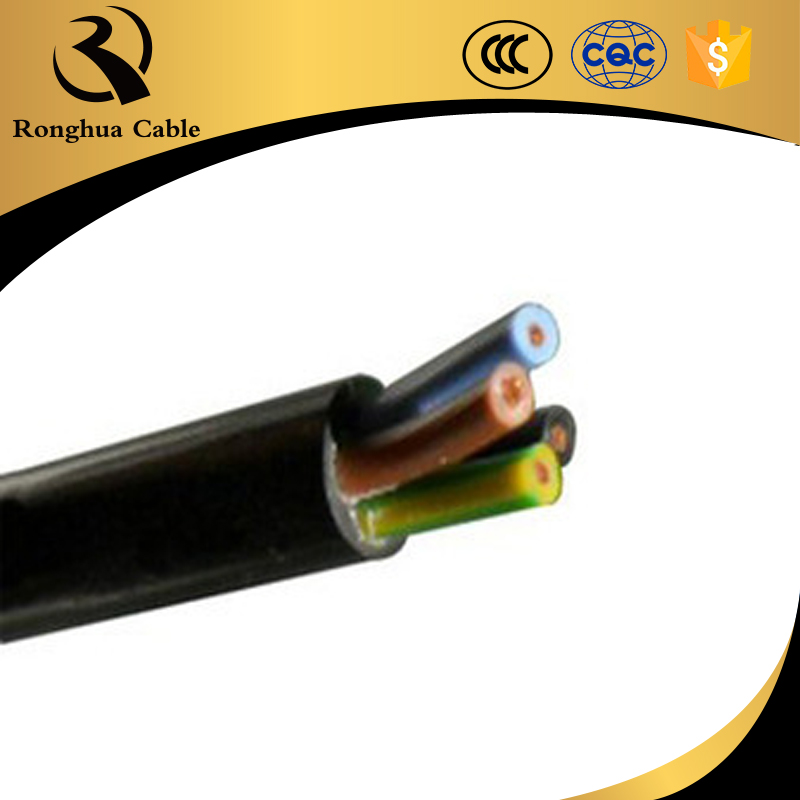 70mm2 4 core wire cables epdm 2.5 flexible cable dc water pump cable