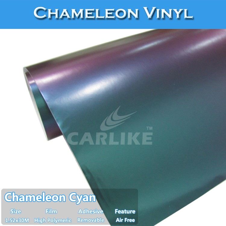 CARLIKE Promotion Price Car Vinyl Film Vehicle Chameleon Wraps