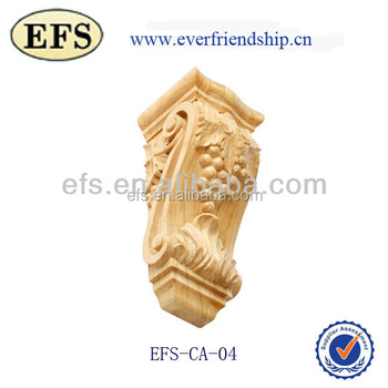 Natural Hand Carved Corbel,Decorative Wood Brackets - Buy Decorative ...