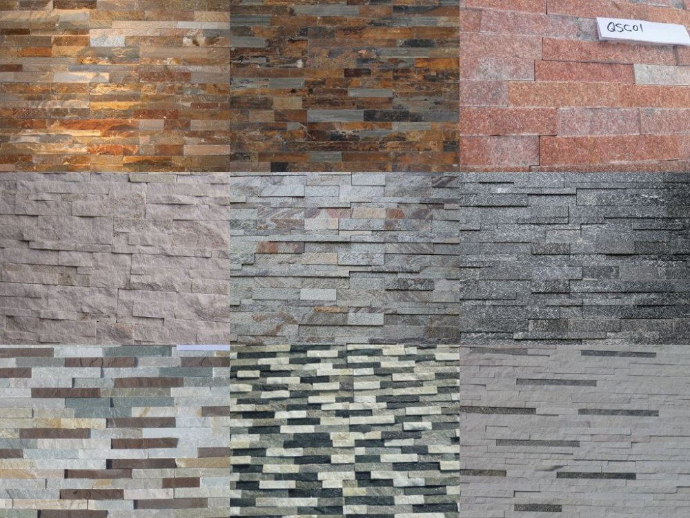 Slate Stone Culture Stone Wall Cladding Veneer Panel For Exterior Buy Interior Stone Wall