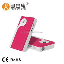 Small Led Lights Powerful Hand Crank Rechargeable LED Flashlight Hand Crank Generator SSD-320