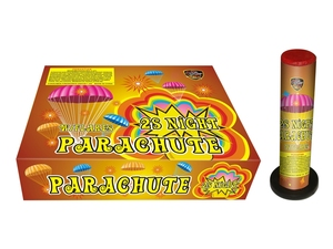 Buy SQS toy fireworks 2 night parachutes (day) with flare fireworks for wholesale