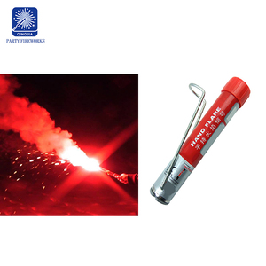 Wholesale fireworks red hand flare