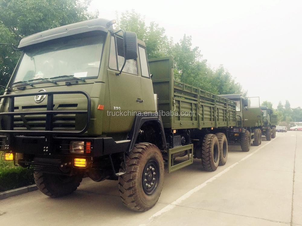 Shacman 6x6 Steyr Todo Terreno Camiones Militares Para La Venta ...