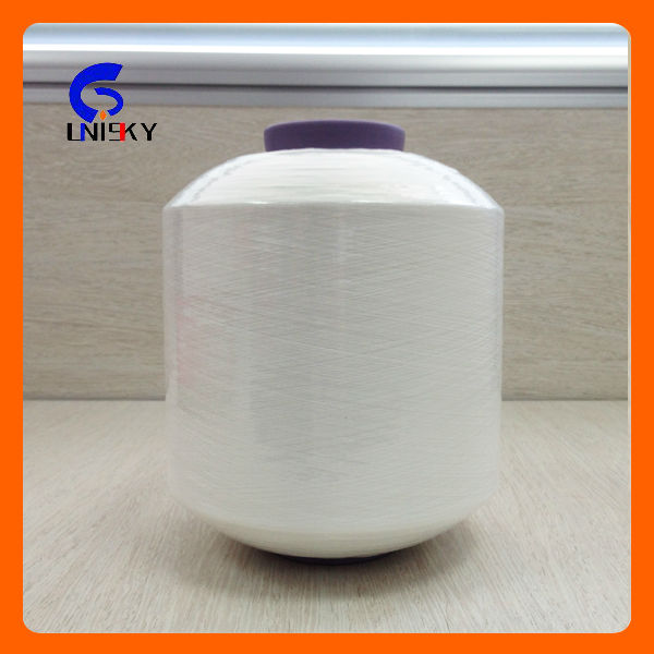 100% POLYESTER TWISTED FDY YARN 150D/48F/2 350TPM S TWIST FOR KNITTING WARP with Best Quality!