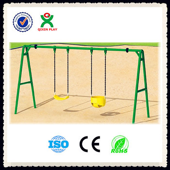 High Quality Children Two Seat Swing Two Seat Outdoor Swing Two
