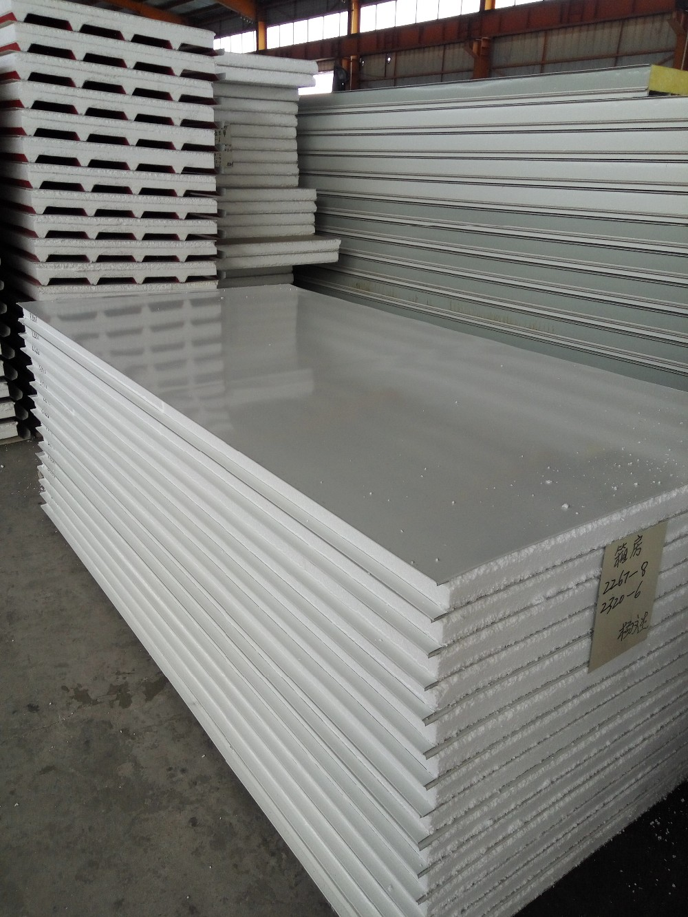 EPS PU rock wool sandwich panel with cheap price