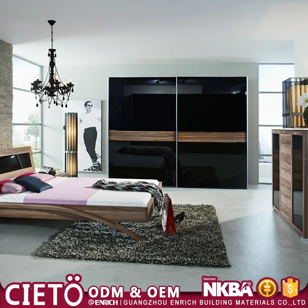custom modern wall mounted wardrobe laminate designs for bedroom