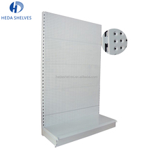 Factory price retail trade show peg board hanging hardware tools display stand shelves with hooks