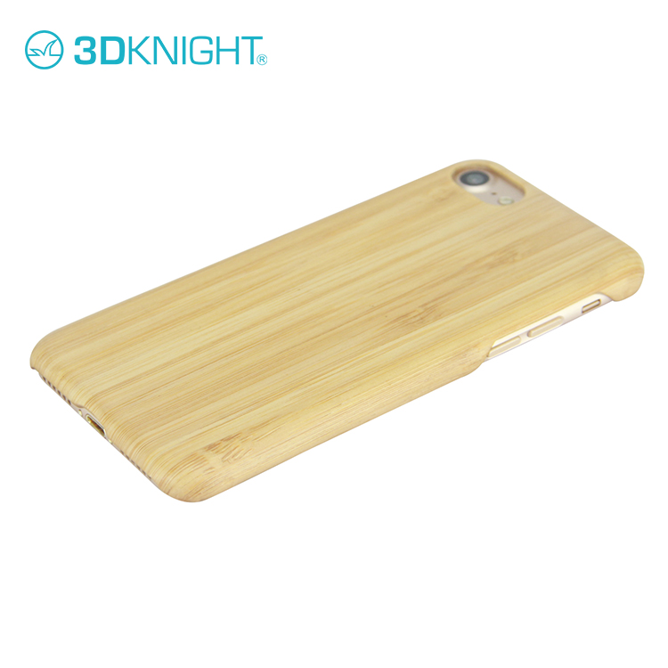 New high quality wood bamboo handphone case cover for apple iphone 7