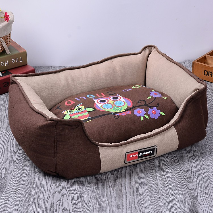 Dier Vormige Zachte Pluche Hond Bed Luxe Hond Bed Groothandel, Hond Bed