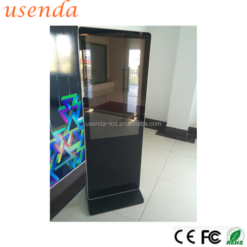 55inch Kiosk Stand Pc Touch Screen Poster Frame China Machine Led ...