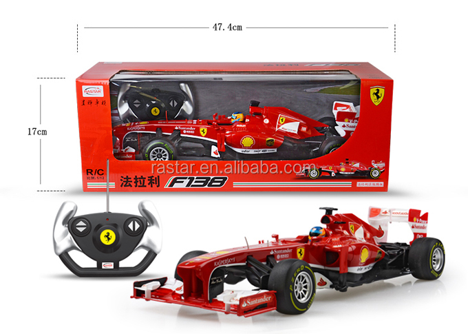 Rastar Kids Toys 1 12 Ferrari F1 Licensed High Speed Rc