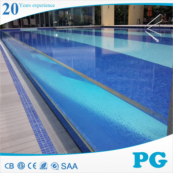 Pg High Standard Clear Acrylic Glass Wall For Swimming Pool Buy Glass Wall For Swimming Pool