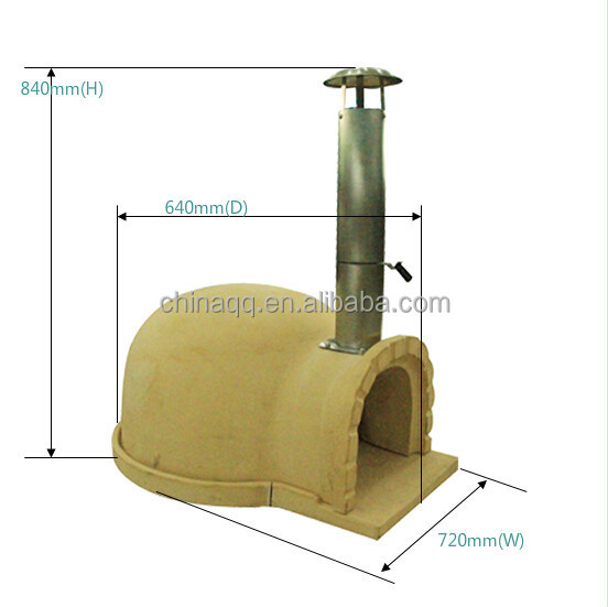 wood fired burning pizza oven brick for sale tandoori china sell pizza
