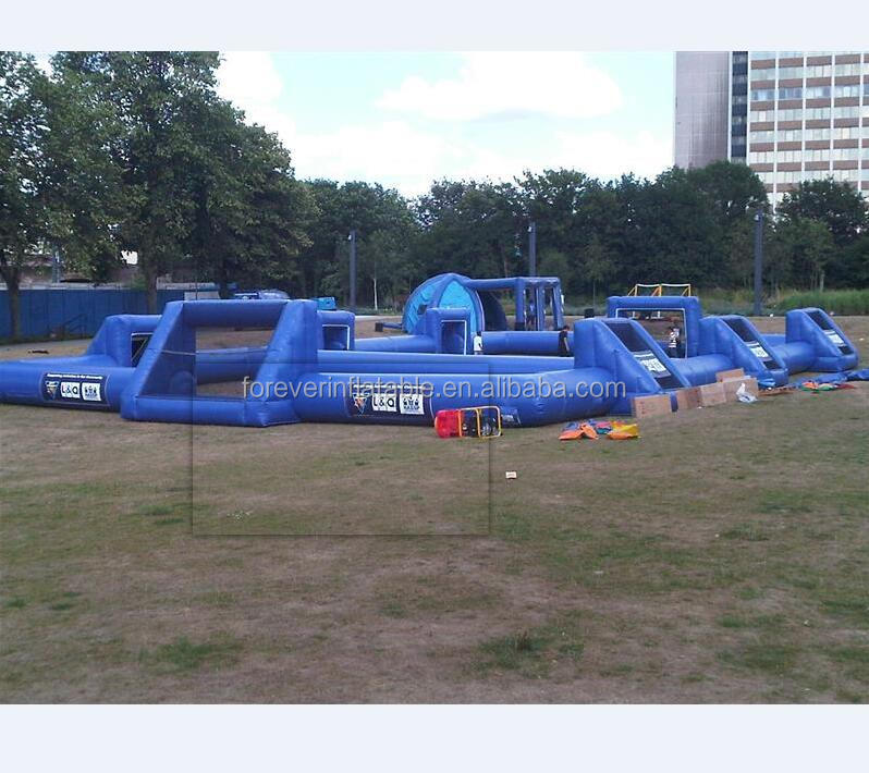 Adults outdoor inflatable sport games pitch
