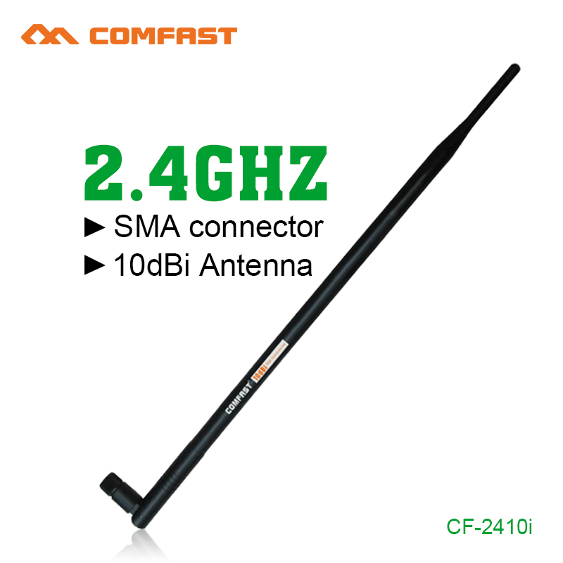 2 4G 10dbi RP SMA High Gain Comfast Wireless WIFI Antenna Booster Wifi  Antennas Amplifier WLAN Router Connector For PCI Card USB-in Network Cards  from