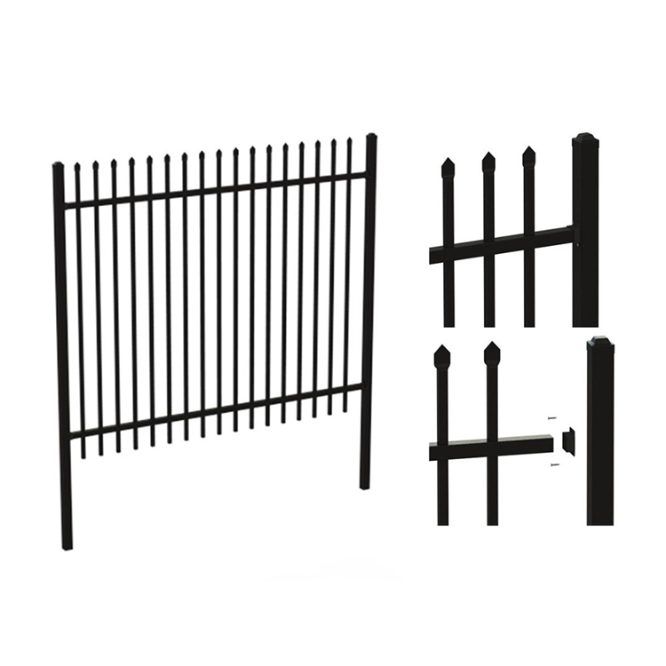 Free Samples Garden Decorative Used Wrought Iron Fencing For Sale