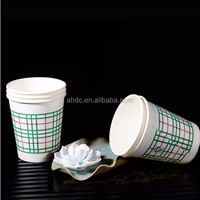 8oz lattice paper cup anhui professional style food grade pe coated paper cup insulated hot and cold