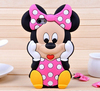 3D Minnie Mouse Phone Case For iPhone 6 case silicone Phone case