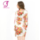 FUNG 3002 New Floral Satin Lingerie Robes