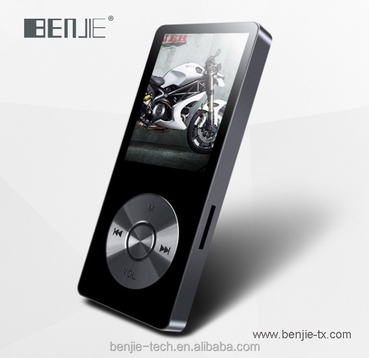 OEM Brand 8GB metal MP3 player with build in speaker