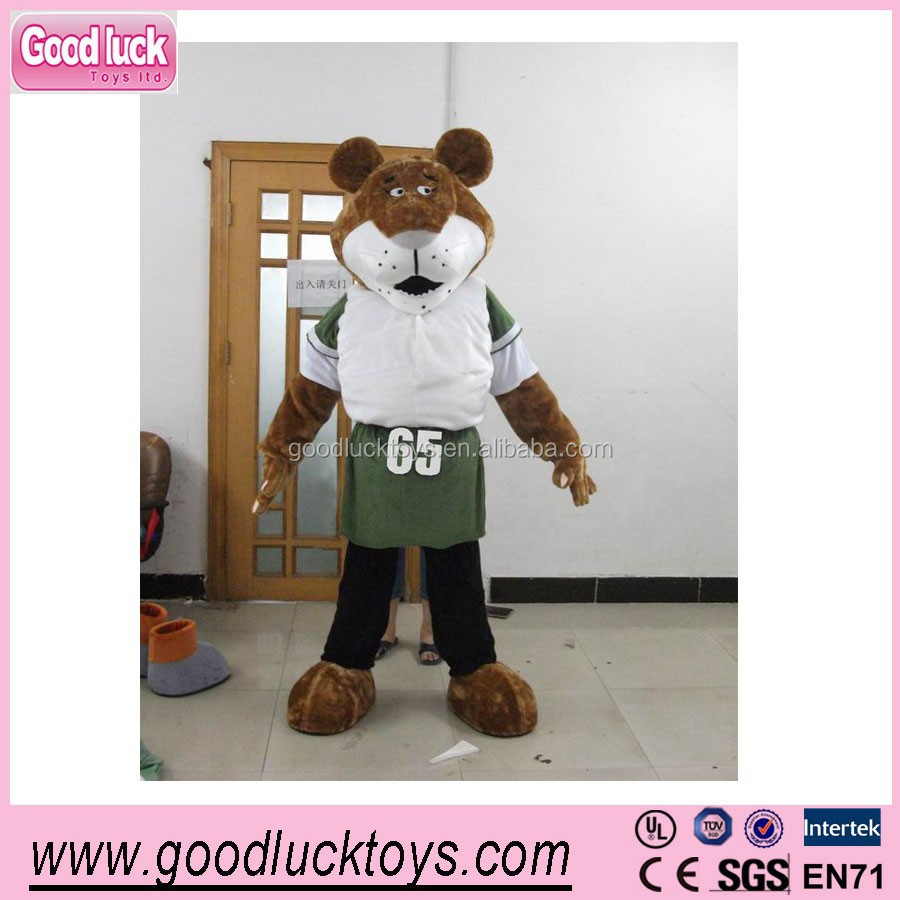 advertising The tiger costume,fur mascots /party cartoon costumes