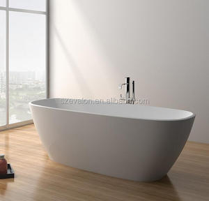 hotel project used replacement pedestal bathtub, acrylic Bathtub for Hotel Furniture