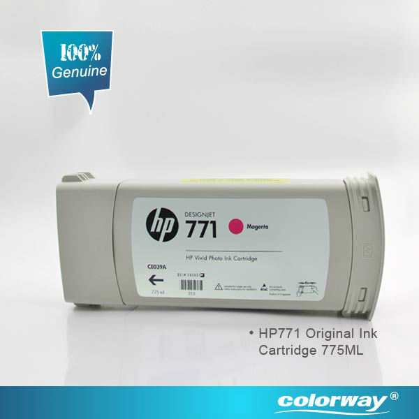 China accredited suppliers 100% original HP 80 Black Ink Cartridge for HP T1000/1050/1055