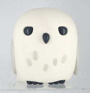 Custom Owl Toy Figure Money Box Piggy Bank / OEM Plastic Decoration Coins Moneybox Gift