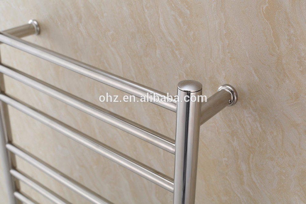 Hot sale small size bathroom stainless steel heated towel warmer 9018